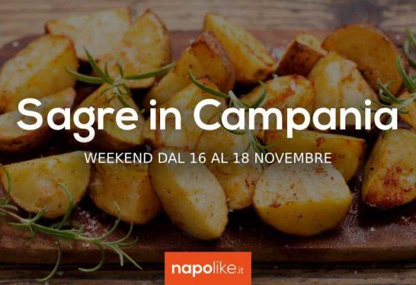 Festivales en Campania en el fin de semana de 16 a 18 Noviembre 2018