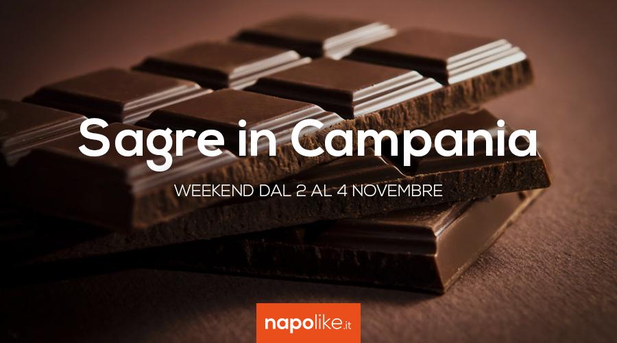 Sagre in Campania nel weekend dal 2 al 4 novembre 2018