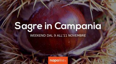 Sagre in Campania nel weekend dal 9 all'11 novembre 2018