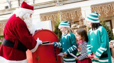 Weihnachtsmann Dorf Salerno