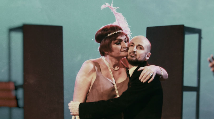 The show When I was a boy at the Nuovo Teatro Sanità in Naples