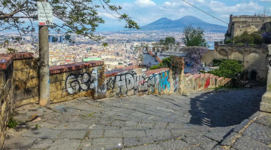 Neapel Treppen Festival