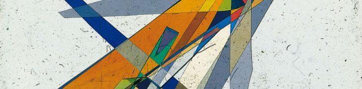 Diapositives polarisées de Bruno Munari exposées à la Fondation Plart à Naples
