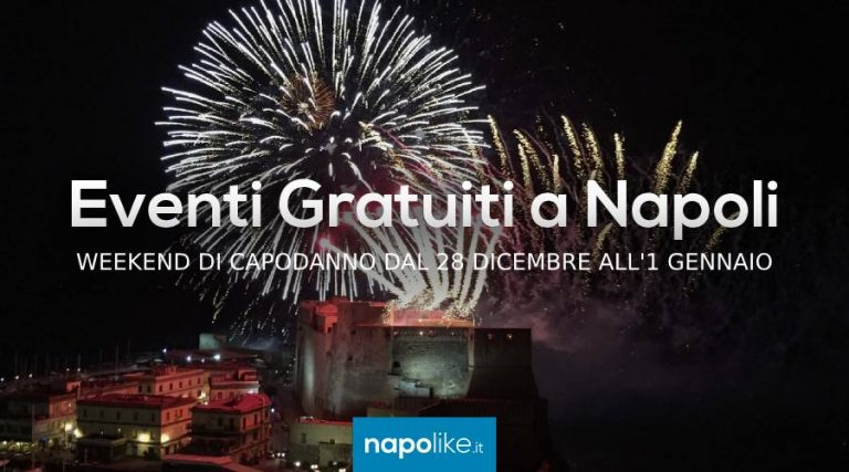 Free events in Naples on New Year 2019