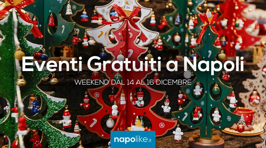Événements gratuits à Naples pendant le week-end de 14 à 16 December 2018
