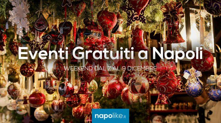Eventi gratuiti a Napoli nel weekend dal 7 al 9 dicembre 2018