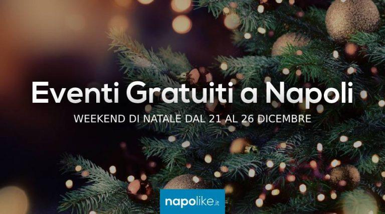Eventi gratuiti a Napoli a Natale 2018