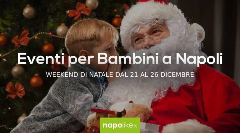 Evènements pour les enfants à Naples au Noël 2018