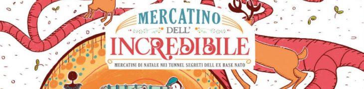 Locandina dei Mercatini di Natale a Bagnoli a Napoli