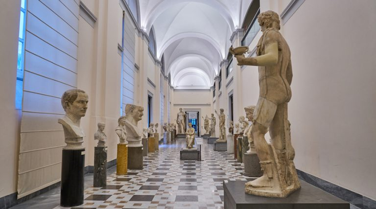 Sala del MANN di Napoli