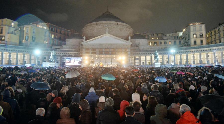 Concerto Piazza Plebiscito Napoli