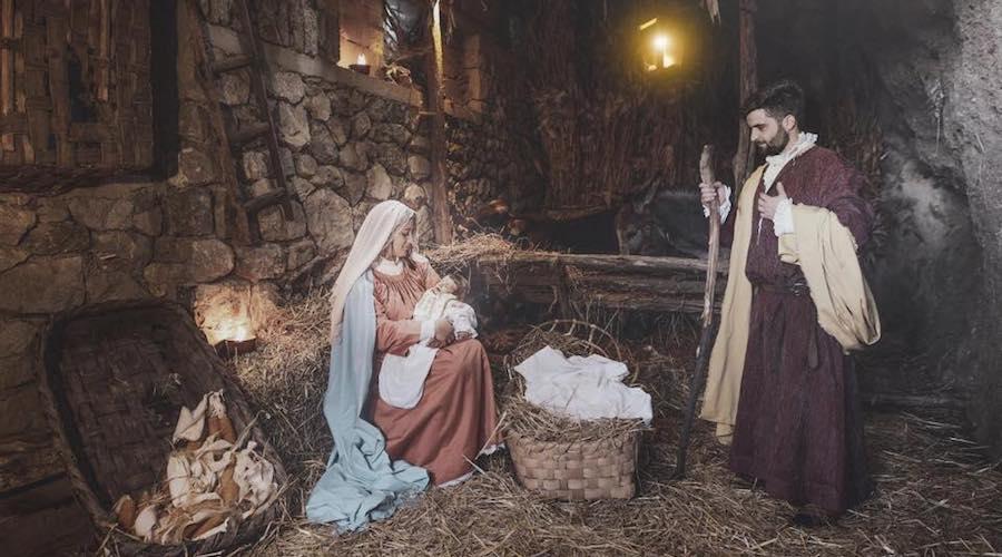 Presepi viventi a Napoli e in Campania per il Natale 2018