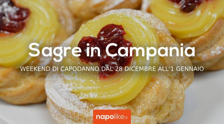 Festivals in Campania at 2019 New Year