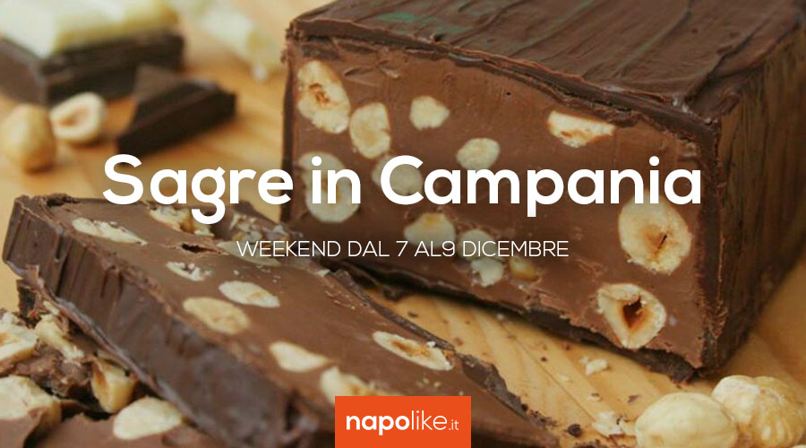 Sagre in Campania nel weekend dal 7 al 9 dicembre 2018