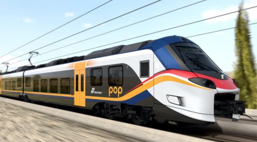 Nuovi treni regionali Rock e Pop in arrivo in Campania