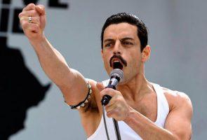 Rami Malek in the film Bohemian Rhapsody