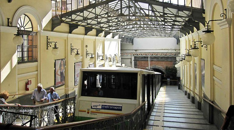 Central Funicular of Naples