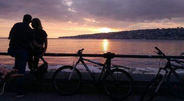 Valentinstag mit dem Fahrrad