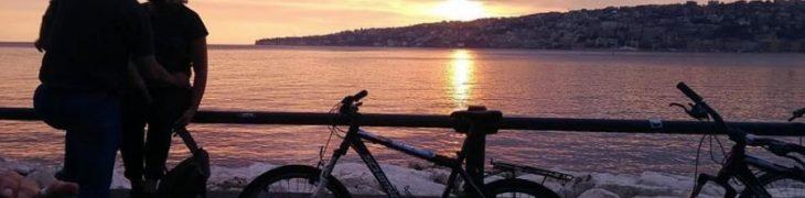 自転車でバレンタインデー