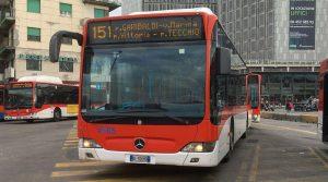 151 ANM bus à Naples