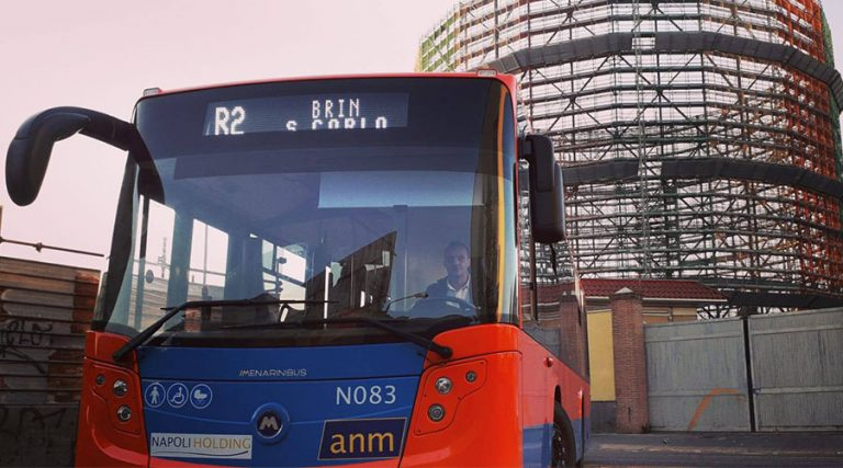 Nuovo bus Citymood a Napoli