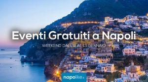 Eventi gratuiti a Napoli nel weekend dall'11 al 13 gennaio 2019