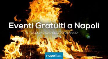 Eventi gratuiti a Napoli nel weekend dal 18 al 20 gennaio 2019