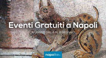 Eventi gratuiti a Napoli nel weekend dal 4 al 6 gennaio 2019