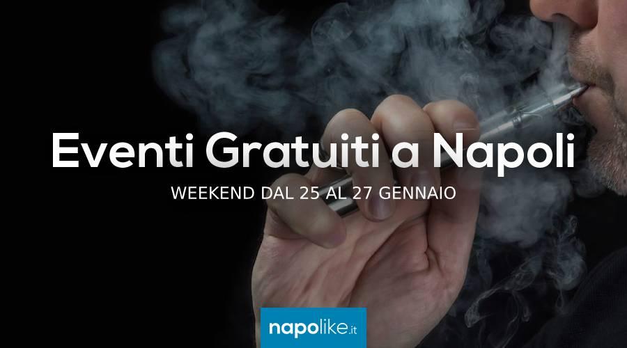 Eventi gratuiti a Napoli nel weekend dal 25 al 27 gennaio 2019