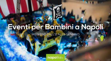 أحداث للأطفال في نابولي خلال عطلة نهاية الأسبوع من 11 إلى 13 في يناير 2019