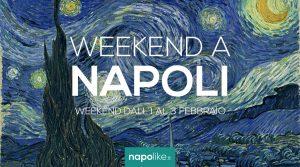 Veranstaltungen in Neapel am Wochenende von 1 bis 3 Februar 2019