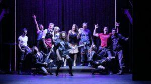 locandina di Flashdance al Teatro Augusteo di Napoli: il musical che fa sognare