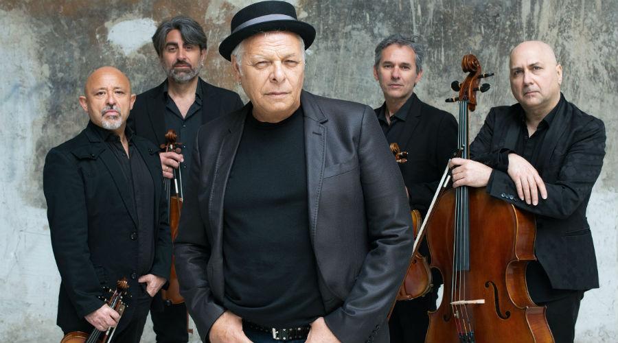 Enzo Gragnaniello e Solis String Quartet