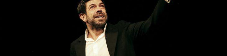 Pierfrancesco Favino al Teatro Bellini di Napoli con La notte poco prima delle foreste