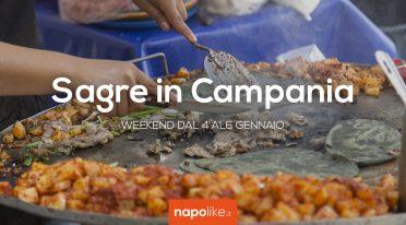 Sagre in Campania nel weekend dal 4 al 6 gennaio 2019