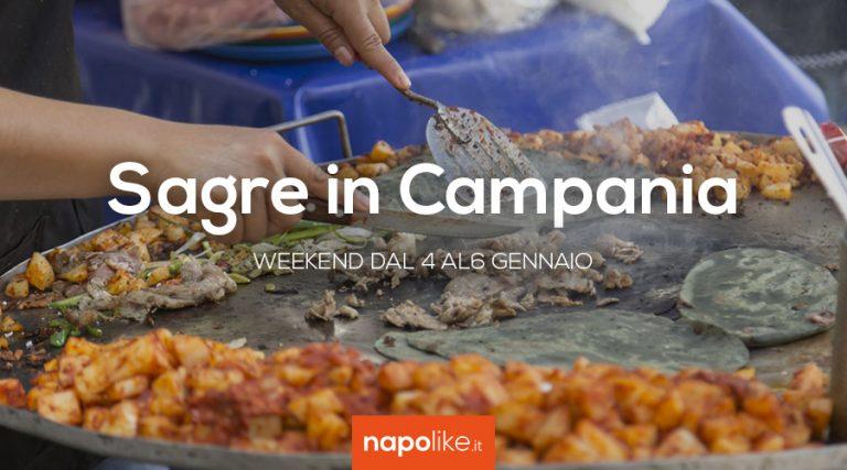 4から6への週末のCampaniaでの祭り1月2019