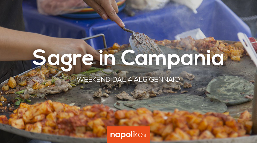 Festivals in Campania in the weekend from 4 to 6 January 2019
