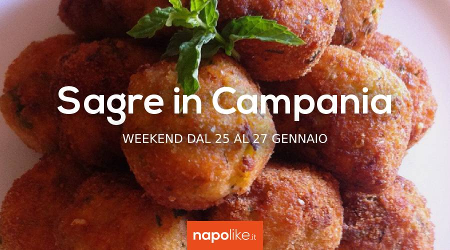 Festivals in Campania in the weekend from 25 to 27 January 2019