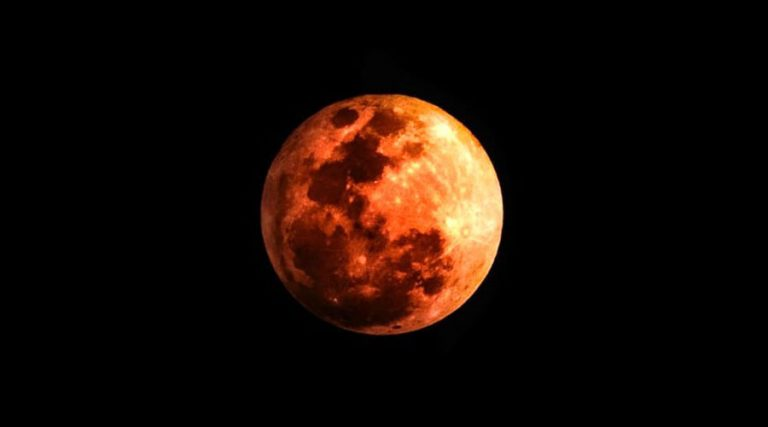 Red Superluna, lunar eclipse