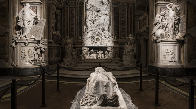 Veiled Christ in Naples