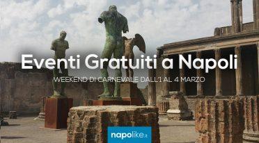 Eventi gratuiti a Napoli nel weekend di Carnevale dall'1 al 3 marzo 2019