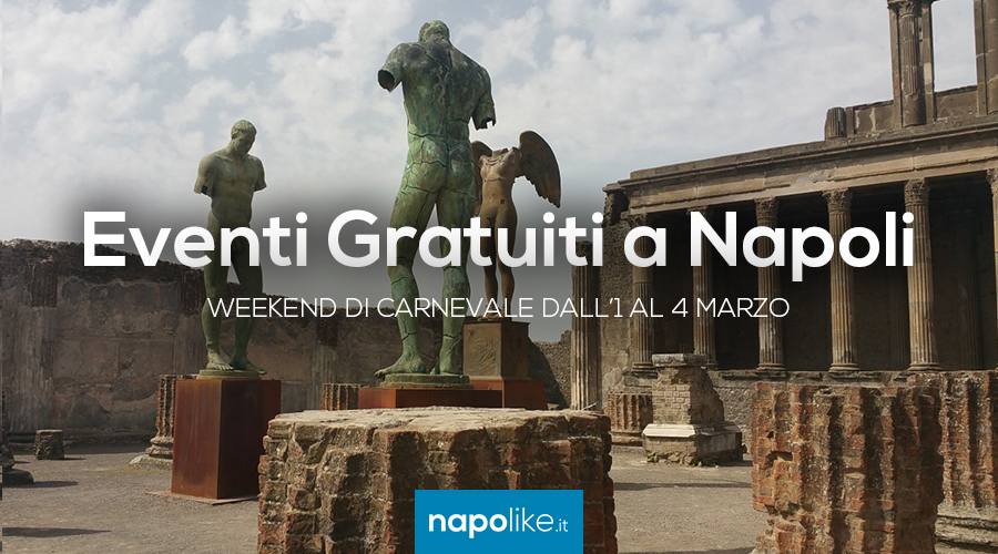 Free events in Naples during the Carnival weekend from 1 to 3 March 2019