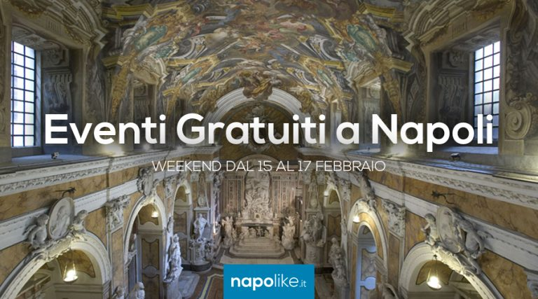 Free events in Naples during the weekend from 15 to 17 February 2019