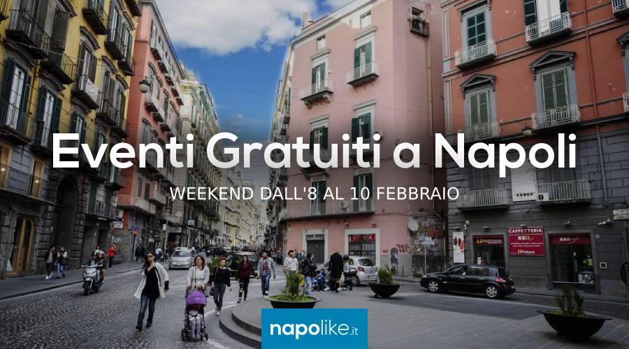 Eventi gratuiti a Napoli nel weekend dall'8 al 10 febbraio 2019
