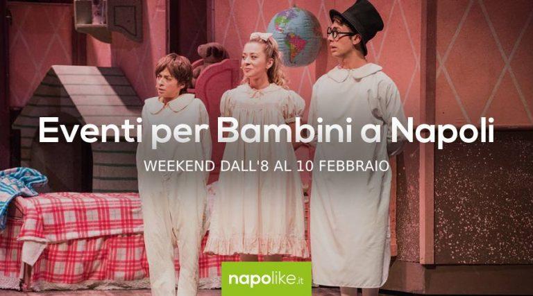 8から10への週末のナポリでの子供のためのイベント2月2019