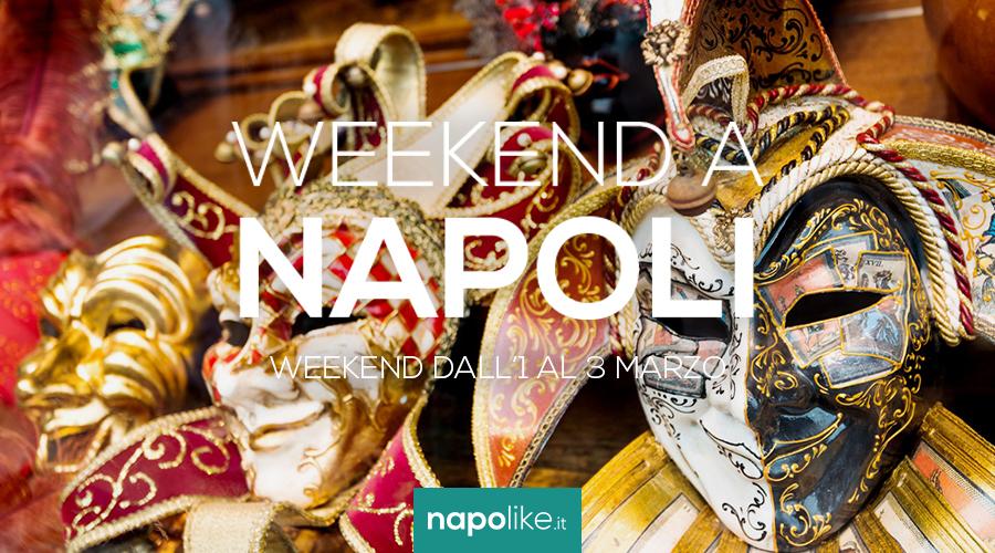 1から3の週末のナポリでのイベント3月2019