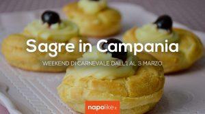 Sagre in Campania nel weekend di Carnevale dall'1 al 3 marzo 2019