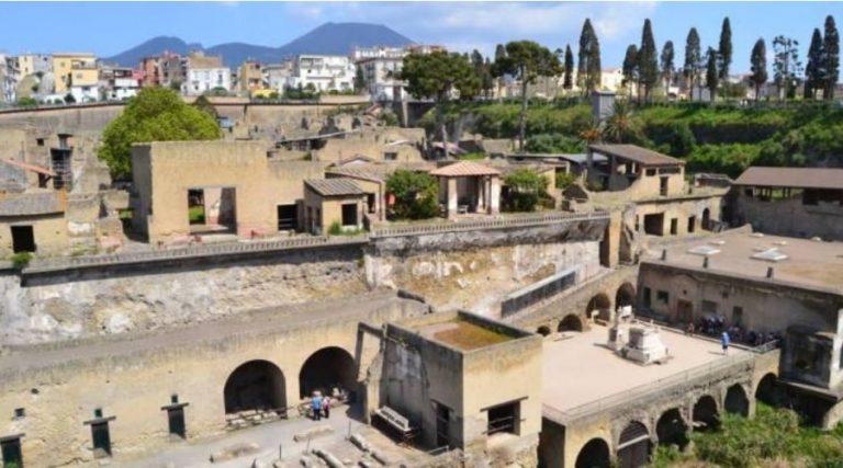 fouilles d'Herculanum