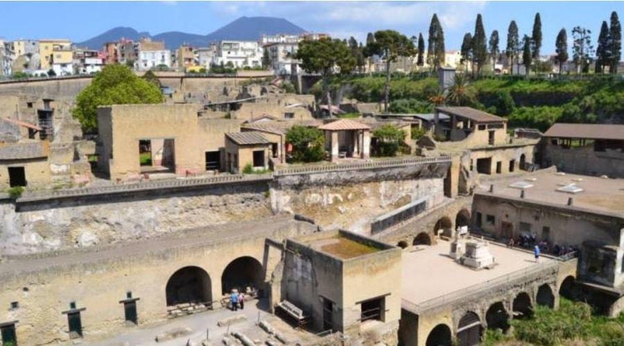 Ausgrabungen von Herculaneum