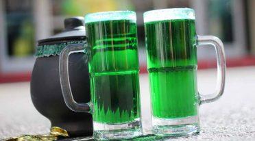 Birra verde di San Patrizio